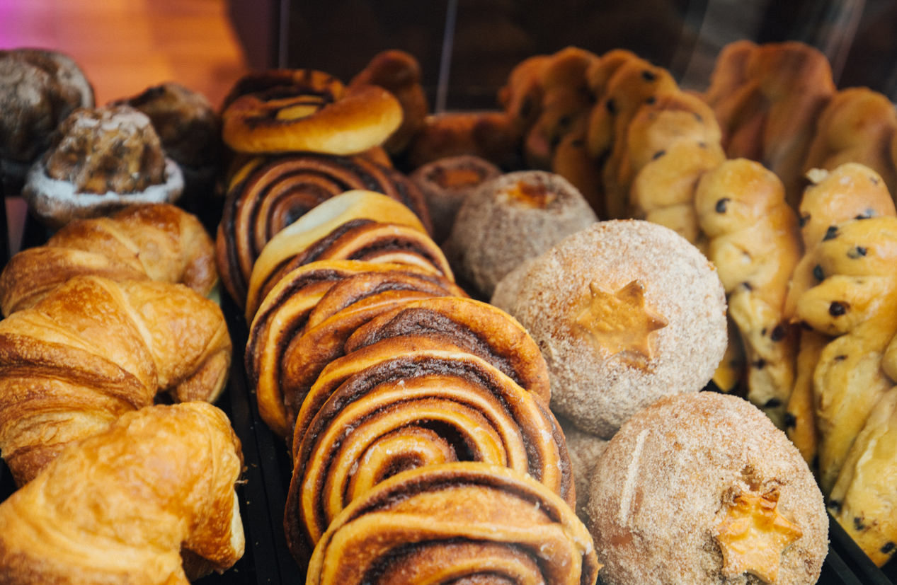 variety of baked goods from local bakeries