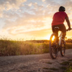 bike ride on cycling trails outdoors