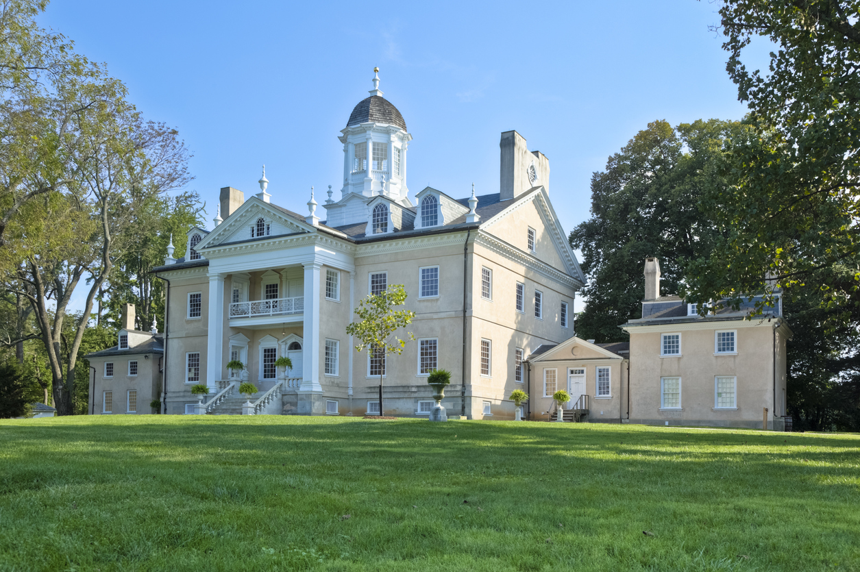 The mansion at the National Park Service's Hampton National Historic Site