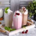 a variety of milkshakes from Jessup restaurants